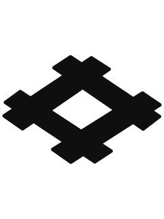 井桁紋の携帯待受