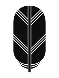 一本鷹の羽紋