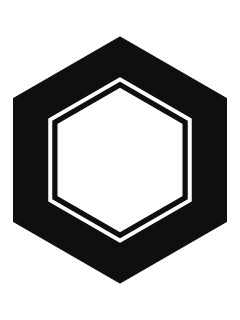 亀甲紋の携帯待受