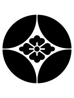 七宝に花菱紋の携帯待受