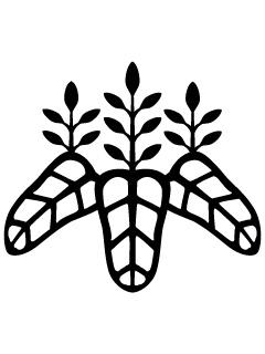 太閤桐紋の携帯待受