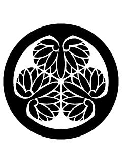 徳川葵紋の携帯待受